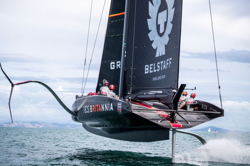 INEOS TEAM UK AMERICAS CUP FINISH