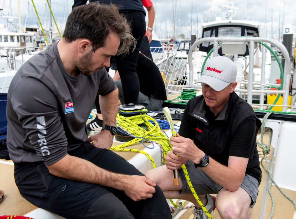Clipper Race prep week